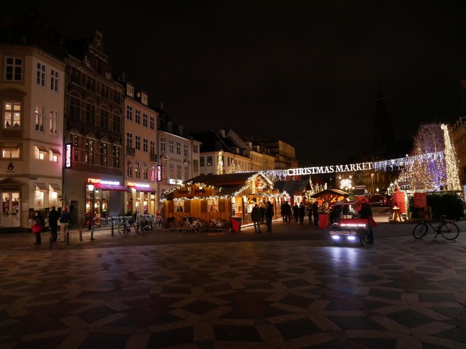 Xmas market in Copenhagen