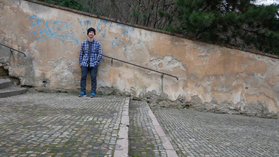 Hipster in Prague